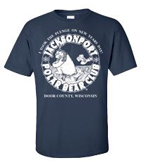 "Jacksonport Polar Bear Club Souvenir ""I Took The Plunge"" T-Shirts"