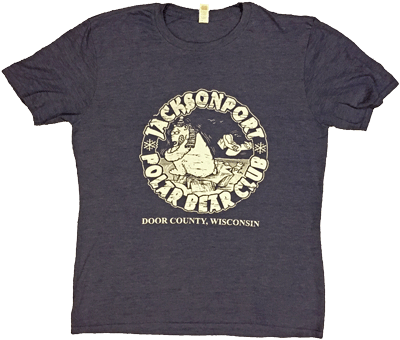 Jacksonport Polar Bear Club Souvenir T-Shirt (undated)