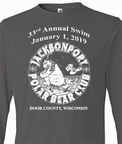 2019 Jacksonport Polar Bear Club Souvenir Long Sleeve T-Shirt